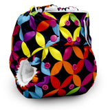 Rumparooz One Size Cloth Pocket Diaper Snap, Jeweled