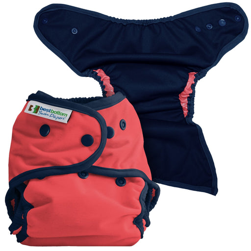 Best Bottom Swim Diaper - Coral Reef