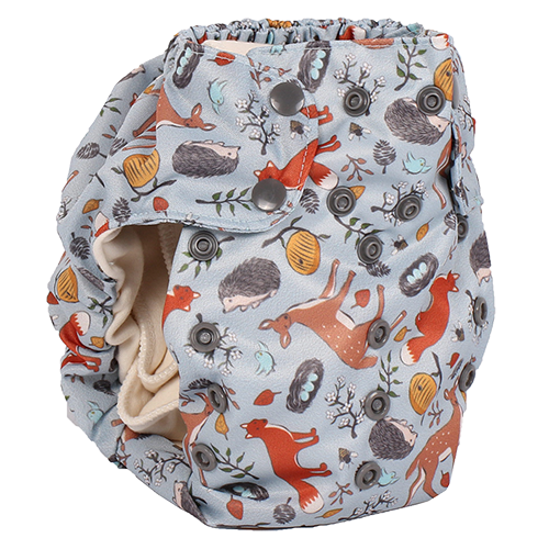 Forest Friends Too Smart Bottoms Diaper Cover