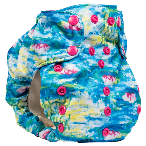 Smart Bottoms Diaper Cover Water Lilies