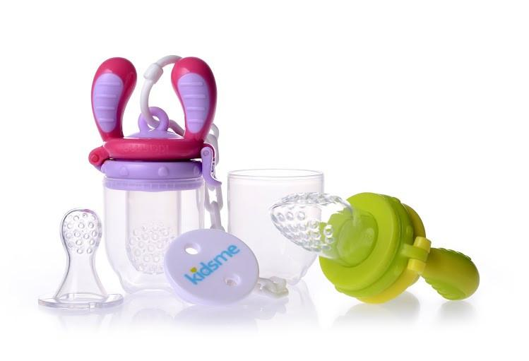 Kidsme Food Feeder Starter Pack with Holder
