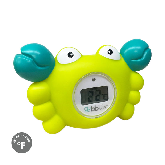 bblüv - Kräb | 3-in-1 Thermometer & Bath Toy  Fahrenheit Mood