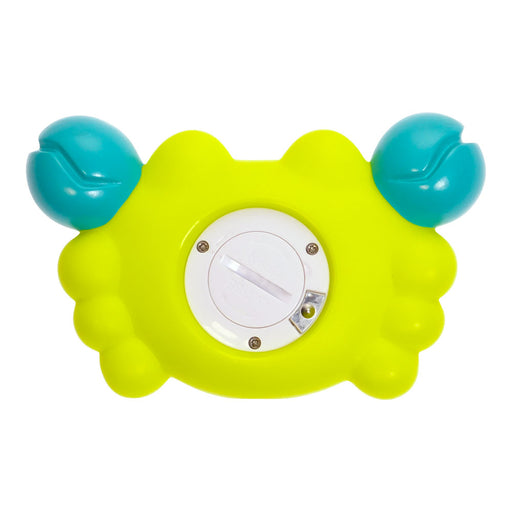 bblüv - Kräb | 3-in-1 Thermometer & Bath Toy in 2 Temperature Mood back side