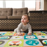 bblüv- Mülti Reversible Bright And Colorful Playmat