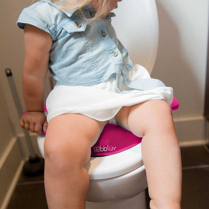 bbluv- Toilet Seat for Potty Training Pink