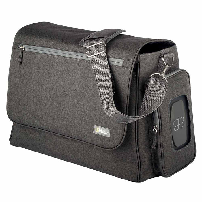 bbluv Complete Diaper Bag Charcoal