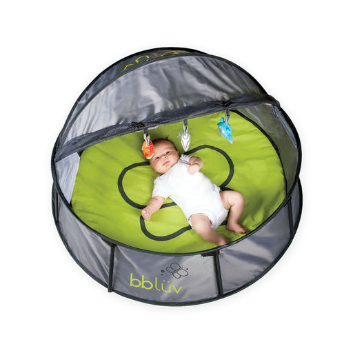 bblüv - 2 in 1 Travel & Play Tent Foldable and Portable Grey