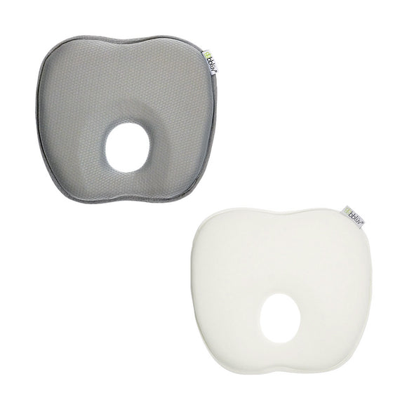 bblüv - Pilö - Ergonomic Headrest for Baby grey and ivory