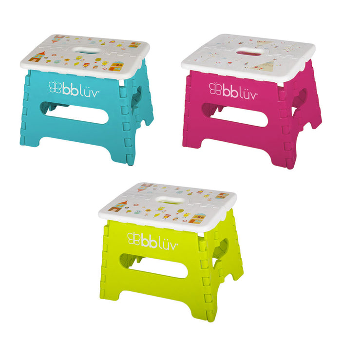bbluv Step - Folding Step Stool Stable & Safe