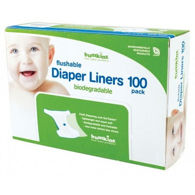 Bumkins - Flushable Biodegradable Diaper Liner 100 - pack