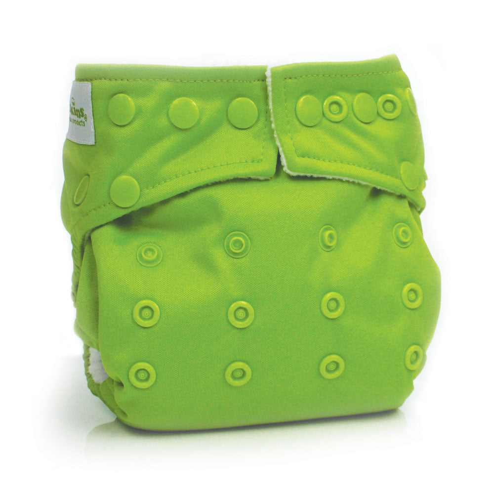 Bumkins - Snap-in-One-Diaper - Green