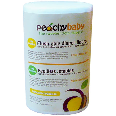 Peachy Baby - Peachy Baby Flush-able Liners