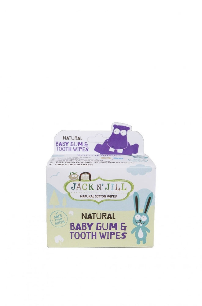 Jack N' Jill Baby Tooth & Gum Wipes - 25 Pack