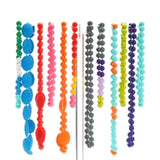 Chewbeads Juniorbeads Bleecker Jr. Glow in the Dark Necklace