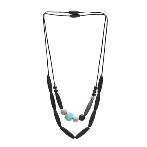 Metropolitan Necklace Black