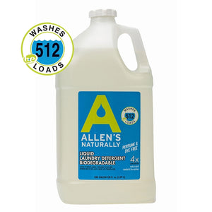 Allens Naturally Laundry Detergent Liquid - One Gallon