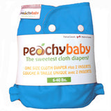 Peachy Baby One Size Diaper Cover Aqua