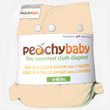 Peachy Baby One Size Diaper  Banana Cream Pie