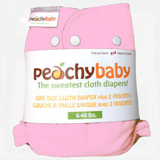 Peachy Baby One Size Diaper Cotton Candy