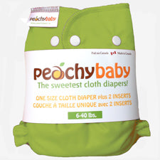Peachy Baby One Size Diaper Cover Kiwi