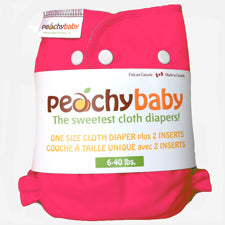 Peachy Baby One Size Diaper Cover Fruit Punch