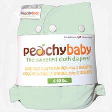 Peachy Baby One Size Diaper Cover Sage