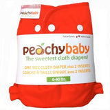 Peachy Baby One Size Diaper Cover Cherry