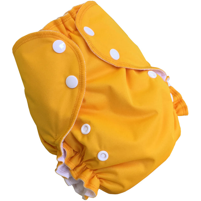AMP Diapers- one size Duo Pocket Super Soft Diapers Mango