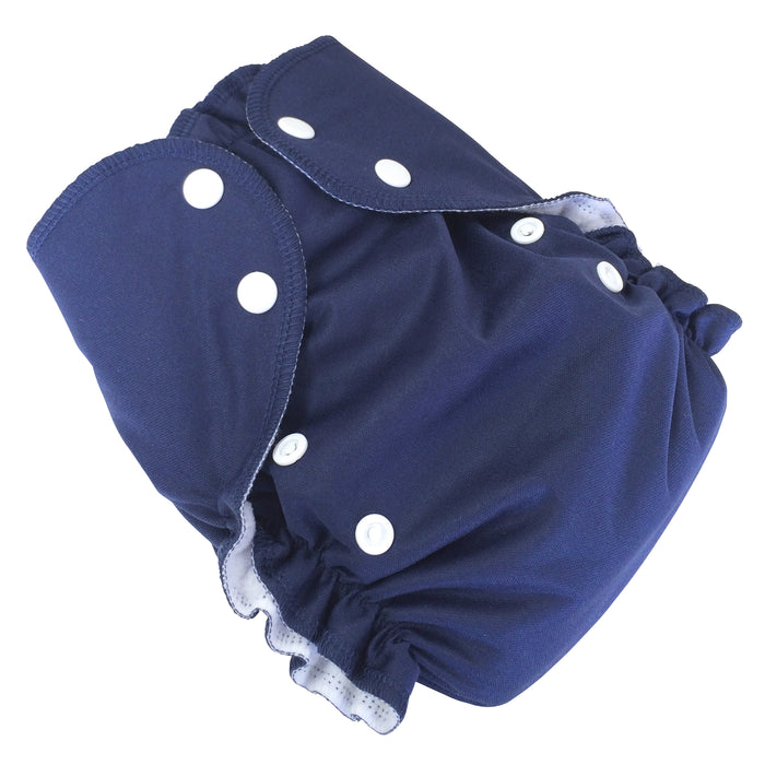 AMP Diapers- one size Duo Pocket Super Soft Diapers navy