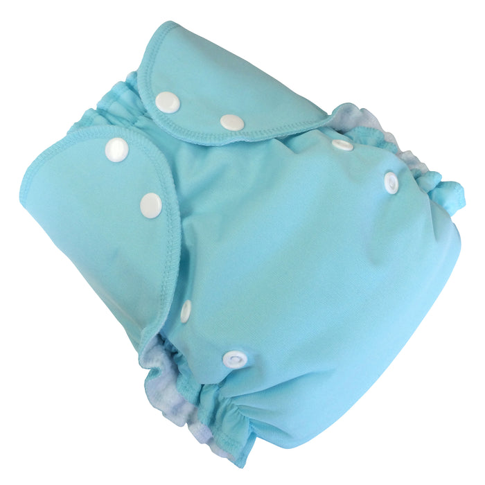 AMP Diapers- one size Duo Pocket Super Soft Diapers seaspray