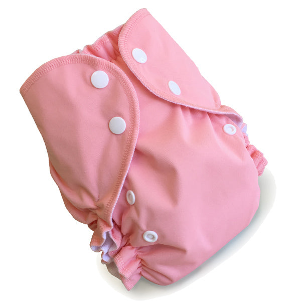 AMP Diapers- one size Duo Pocket Super Soft Diapers flamingo