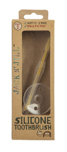 Jack N' Jill Silicone Baby Toothbrush