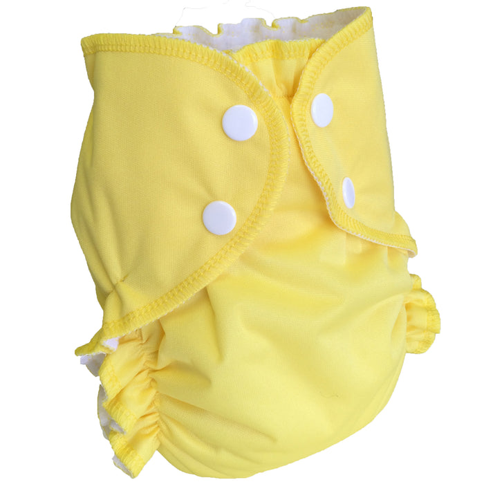 AMP Diapers- One Size Duo Bamboo SET Lemon