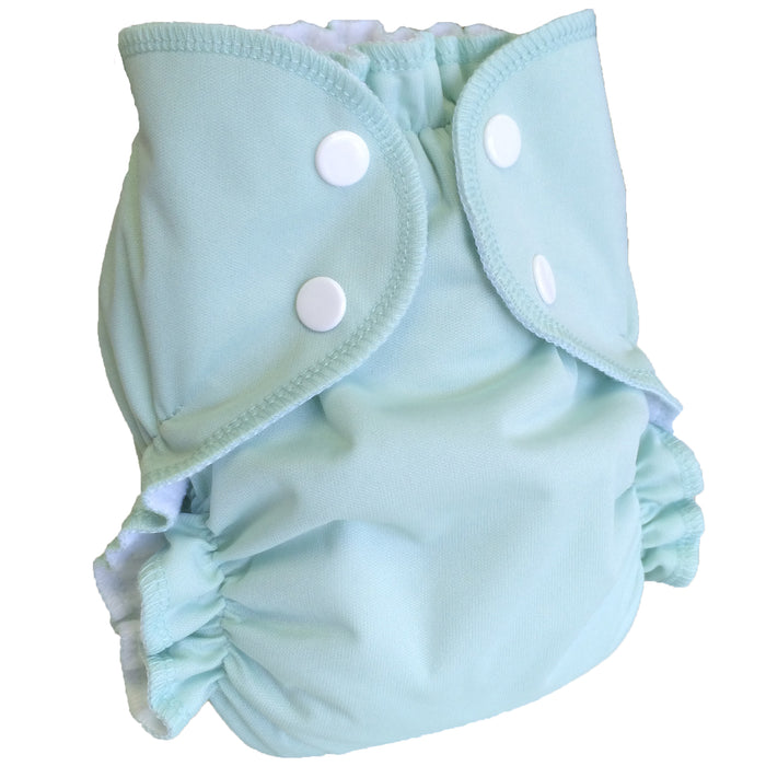 AMP Diapers- One Size Duo Bamboo SET Light Blue