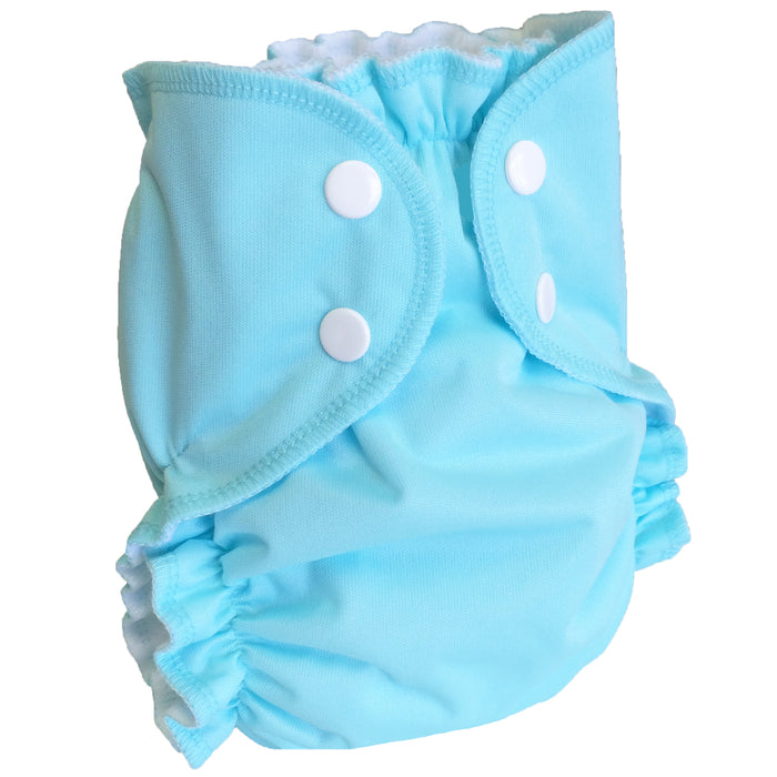 AMP Diapers- One Size Duo Bamboo SET Blue