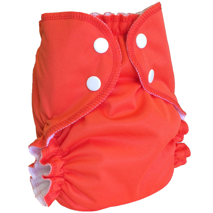 AMP Diapers- One Size Duo Bamboo SET TANGERINE