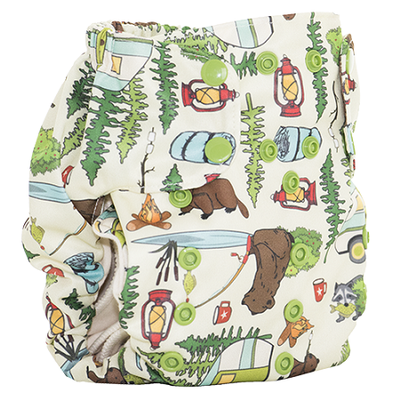 Campfire Tails Too Smart Bottoms Diaper Cover