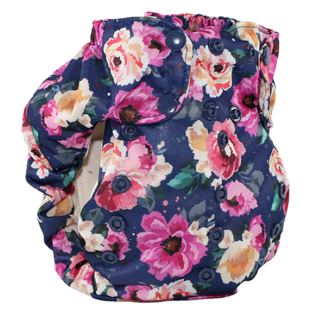 Petit Bouquet Too Smart Bottoms Diaper Cover