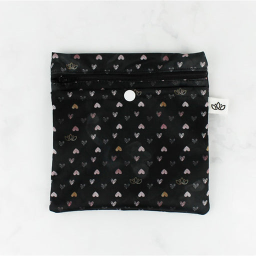 Lotus Pouch - Hearts