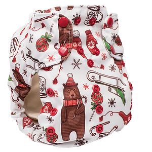Smart Bottoms Diaper Cover Snow Day
