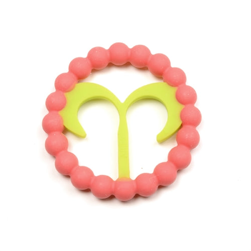 CHEWBEADS BABY ZODIES TEETHER - ARIES Pink