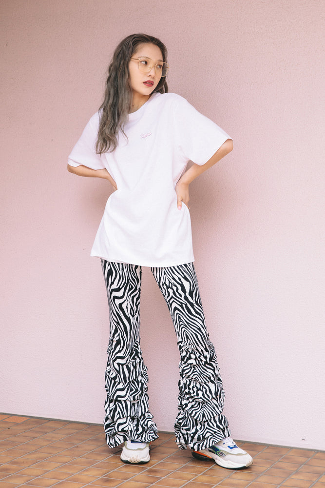 "【再入荷分予約受付中】ANIMAL ""LOO-GY"" LEGGINGS / ZEBRA"