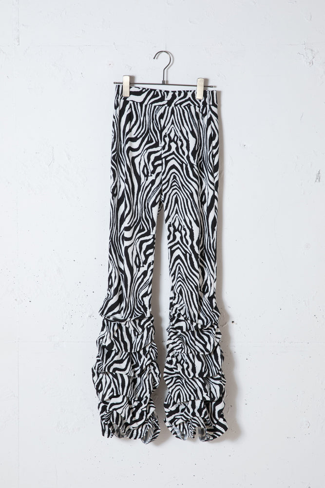 "ANIMAL ""LOO-GY"" LEGGINGS / ZEBRA"