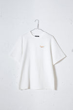 MILKSHAKE PHOTO PRINT TEE / ORANGE