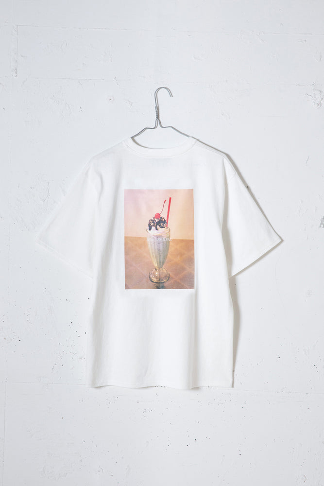 MILKSHAKE PHOTO PRINT TEE / MINT