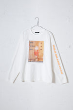 MILKSHAKE PHOTO PRINT L/S TEE / ORANGE