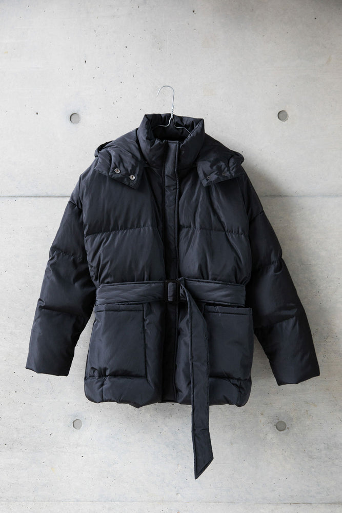 3WAY PUFFY JACKET / BLACK