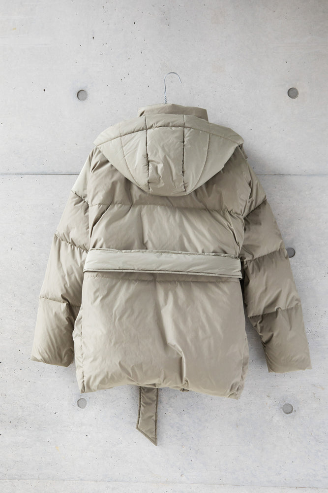 3WAY PUFFY JACKET / KHAKI