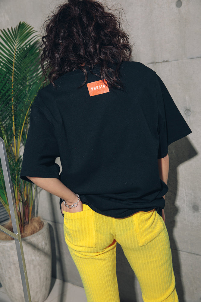 MELLOW RIB PANTS / YELLOW