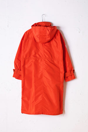 【CLIMATE MATE】NYLON HOODED JACKET / ORANGE